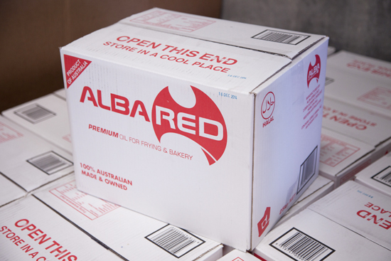 Alba Red Blended Oil