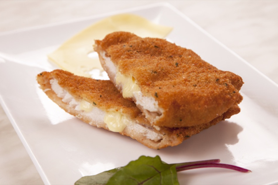 Breast Chicken and Cheese Schnitzel