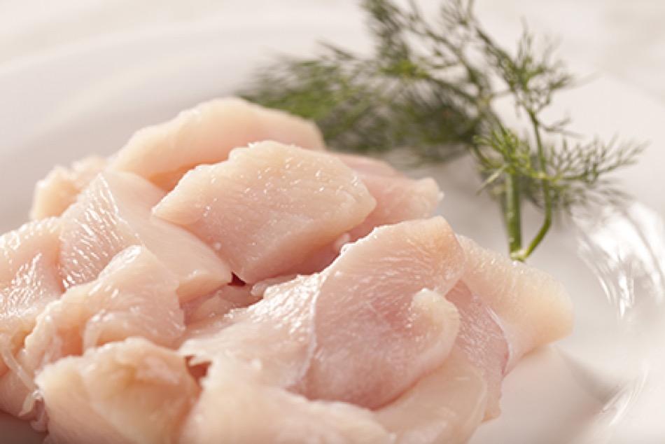 Fresh Chicken Tenderloins Breast Chunks