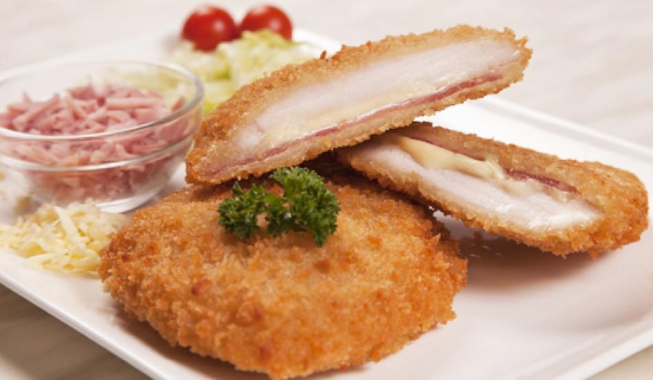 Chicken Cordon Bleu Schnitzel