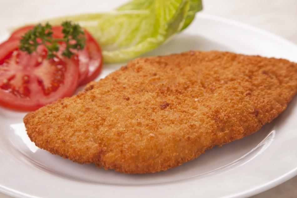 Flash Fried Chicken Breast Schnitzel