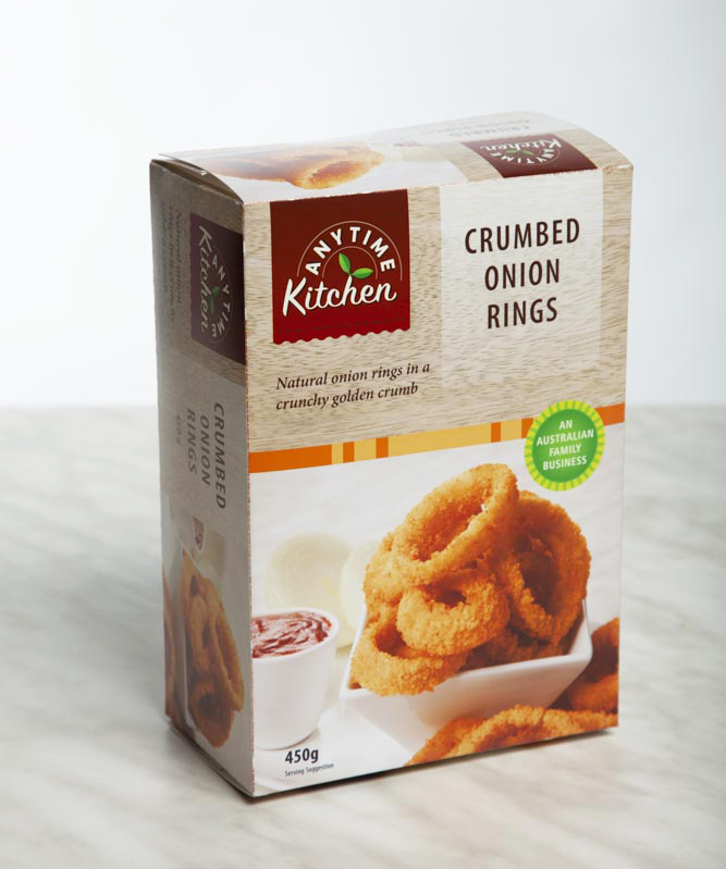 Crumbed Onion Rings