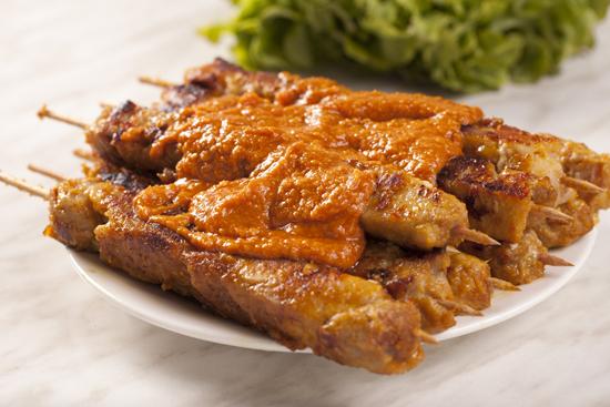 Premium Chicken Satay Kebabs